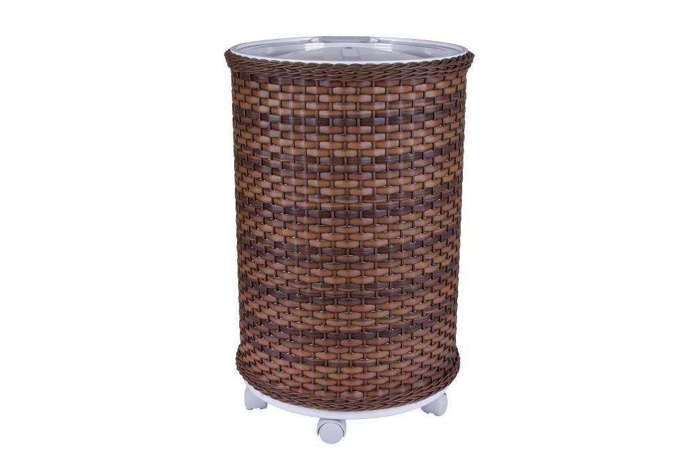 Cooler Fibra Sintética Natural Rattan 75 Latas Anabell