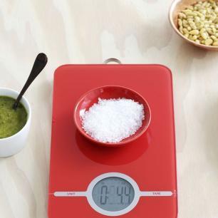 Balança Digital para Cozinha Brabantia Vermelha