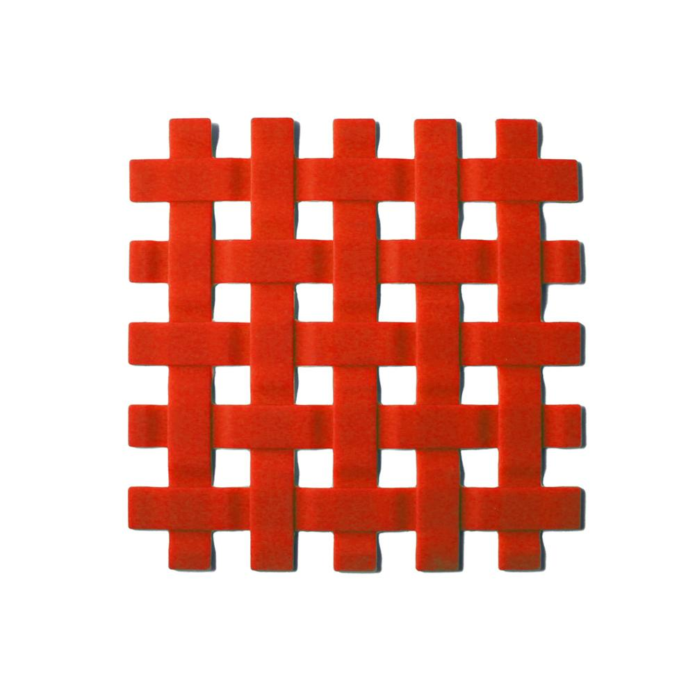 Descanso para Panela em Silicone 17,5cm Kenya Vermelho