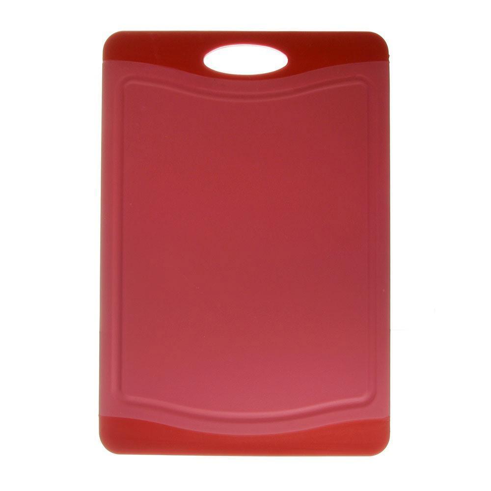Tábua de Cozinha em Polipropileno 36cm x 25cm Neoflam Vermelha