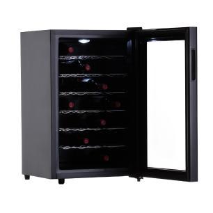 Adega de Vinho 28 Garrafas Termoelétrica JC-65g 220V Easy Cooler Preta