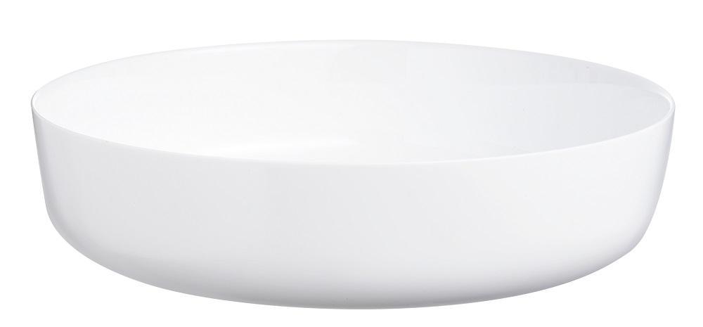 Bowl para Servir Diwali em Vidro 30cm 4 Litros Luminarc Branco