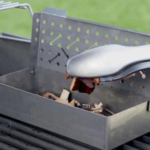 Caixa Defumadora em Aço Inox 25cm Weber