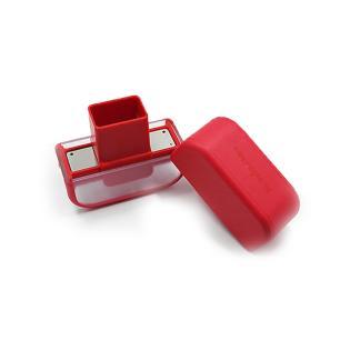 Fatiador para Alho Microplane Vermelho