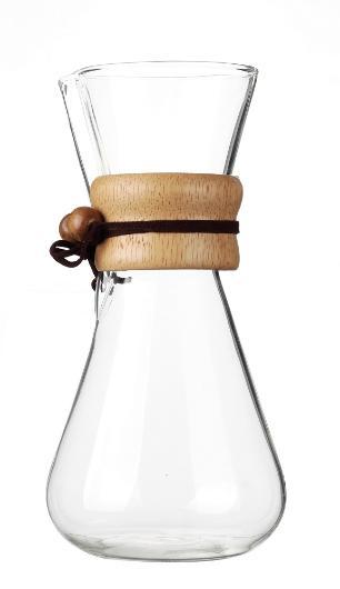 Cafeteira em Bambu Drip e Serve 630ml Kenya