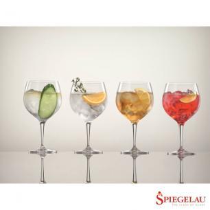 Conjunto de 4 Taças para Gin Tônica em Vidro 630ml Perfect Serve Spiegelau