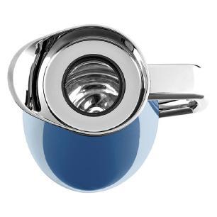 Garrafa Térmica Plaza Quick Press 1 Litro Emsa Azul Metálico