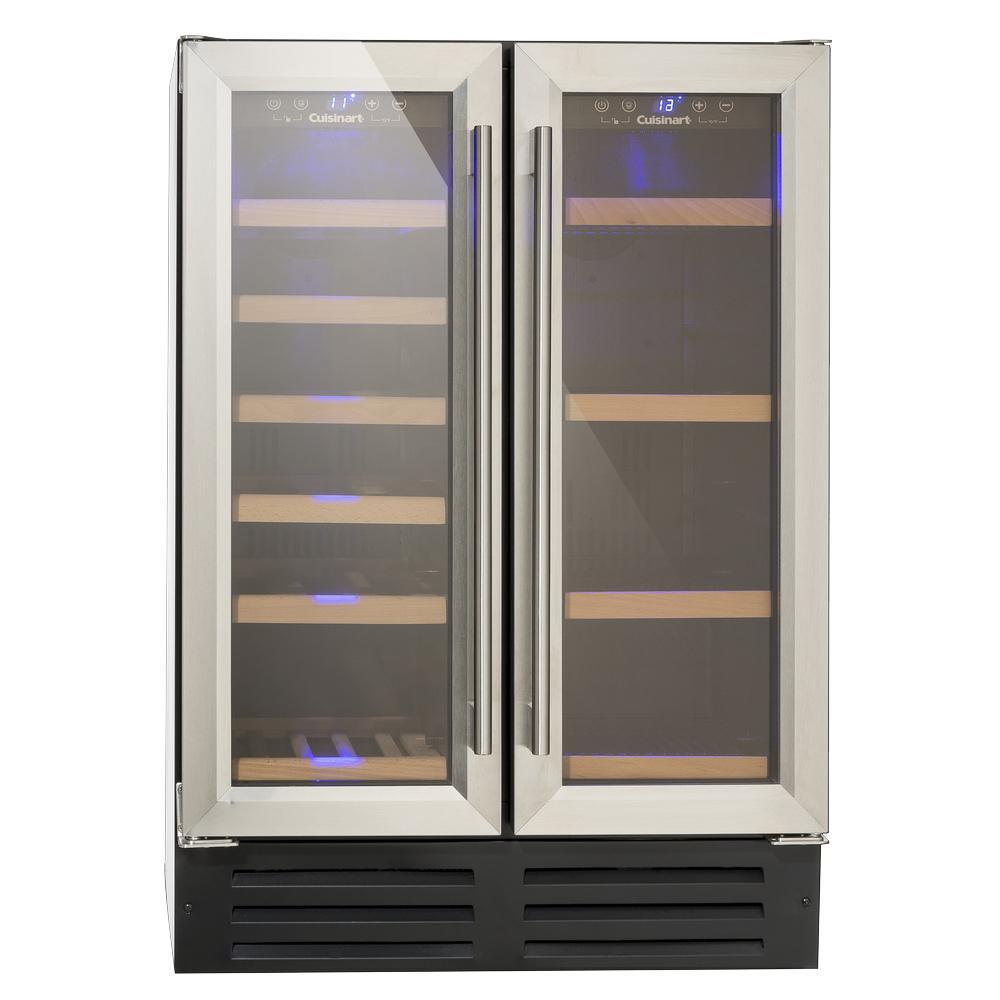 Adega de Vinhos e Frigobar 2 Portas Built in 220V Prime Cooking Cuisinart