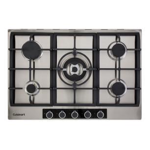 Cooktop a Gás com 5 Queimadores 75cm P750STXL Casual Cooking 220V Cuisinart