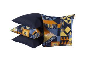 Kit com 4 Capas Para Almofadas Decorativas 0150