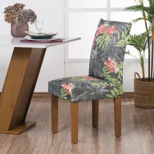 Capa De Cadeira Guilherme Confecções Kit 6 Peças Sensação