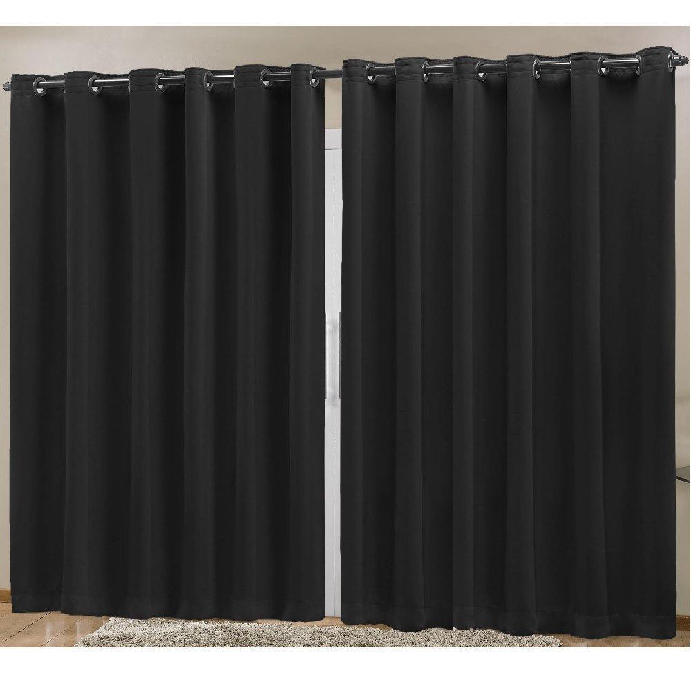 Cortina Blackout em Tecido Prime 4,00 m x 2,70 m - Preto