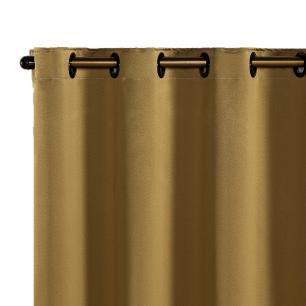 Cortina Blackout Corta Luz 70 % Tecido 2,80 x 1,60 - Dourado