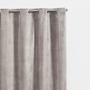 Cortina Franciele Blackout 2,80m x 2,00m Cinza