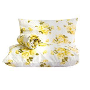 Jogo de lençol Classic 3 peças queen Floral Poá