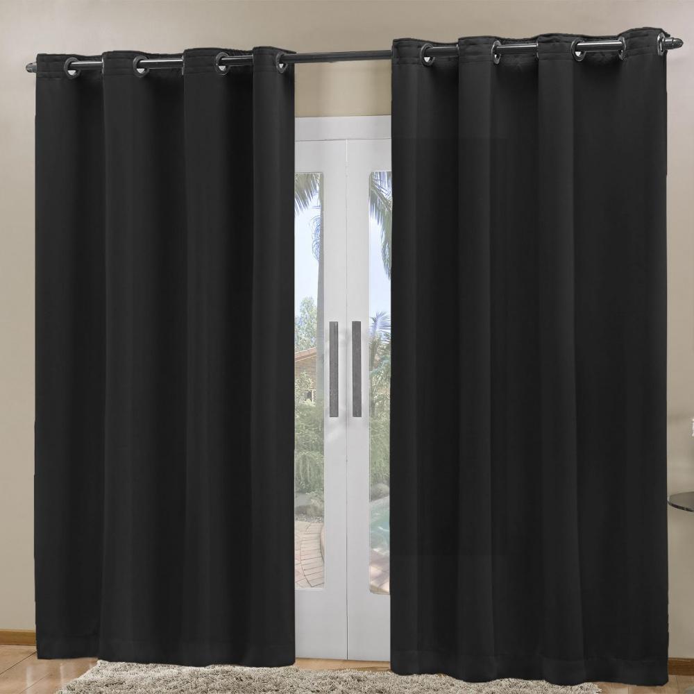 Cortina Blackout em Tecido Prime 2,80 m x 2,30 m - Preto