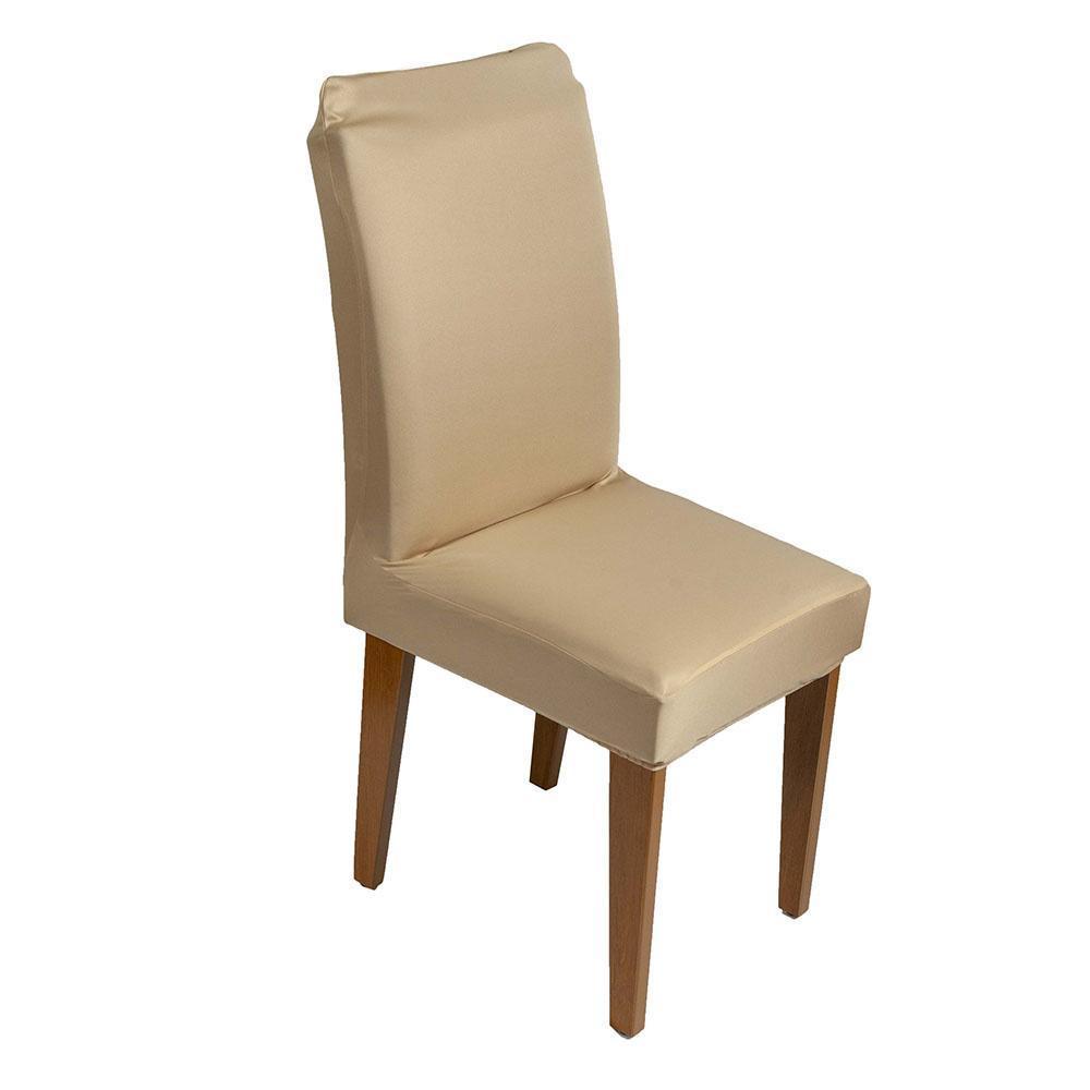 Capa de Cadeira Guilherme Confecções Bege