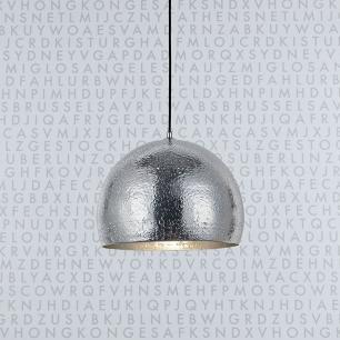 Pendente Lustre para sala 182X40X40cm Alumínio Prateado