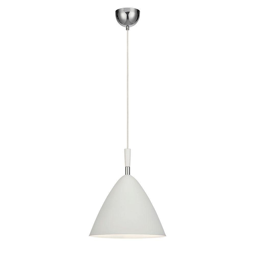 Pendente lustre design classic 189X33X33 metal branco
