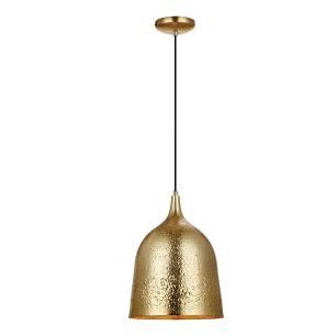 Pendente Lustre design 193X28x28 alumínio dourado