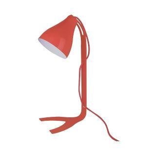 Abajur luminária de mesa, 43x18, Metal vermelho