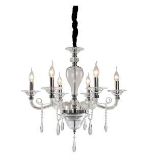 Lustre Pendente para sala 161x65x65 vidro e cristal legitimo