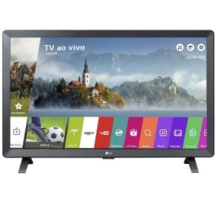 Smart Tv Monitor Lg 24 Pol Led Tl520s Webos 3.5 Dtv Bivolt