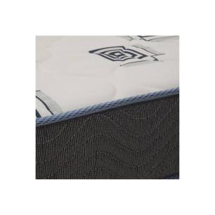 Colchão Solteiro Espuma Ligth D33 Branco e Azul- Ortobom 14x78x188 - 1041602639