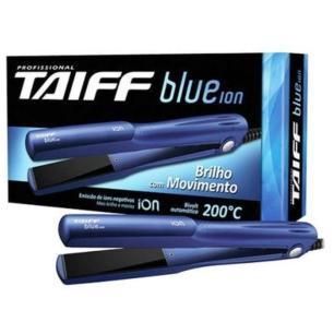 Chapinha Profissional Taiff Blue Ion Linha Elegance Bivolt  Automatico 200c°