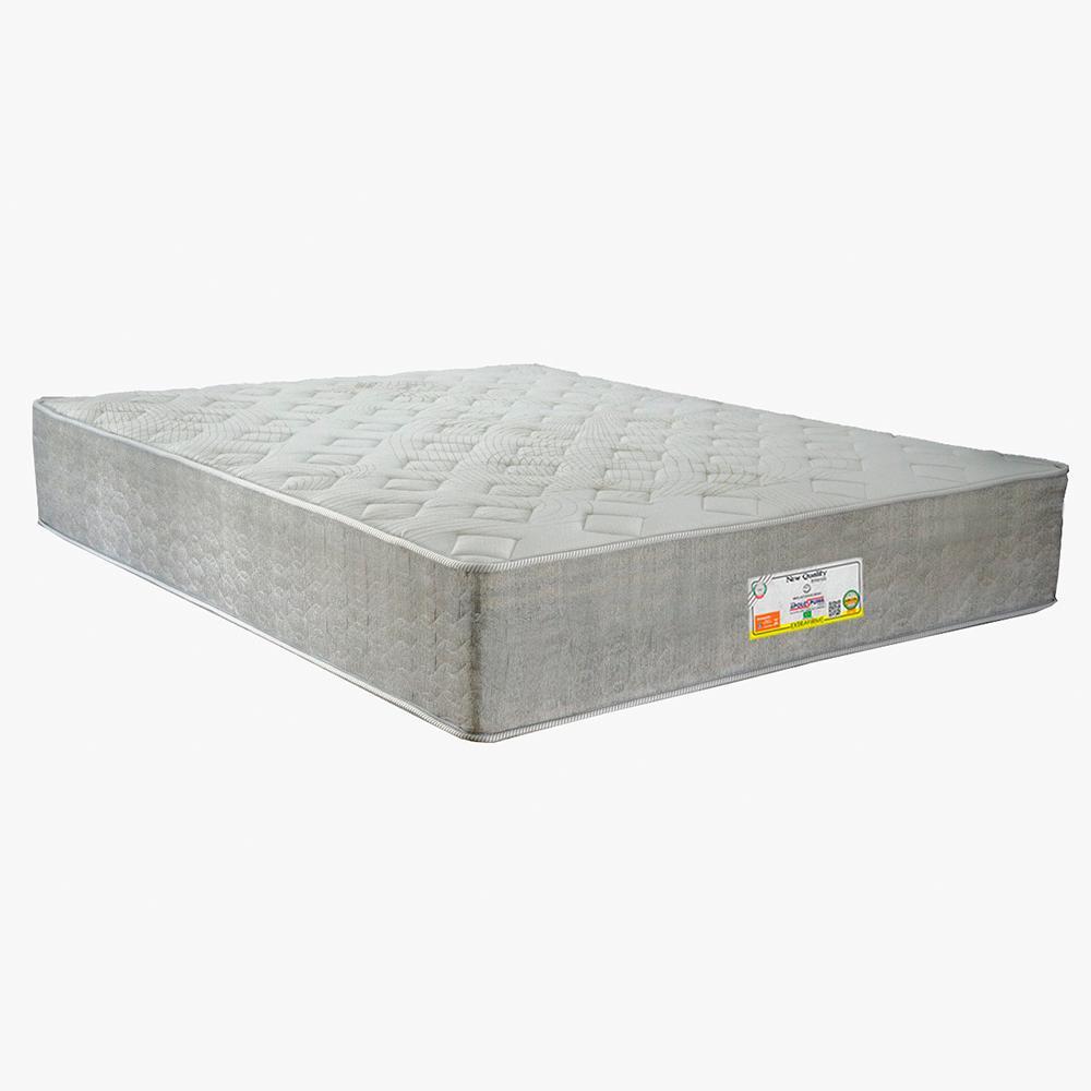 Colchão Queen New Quality Extrafirme D26 Apolospuma Palha Cinza 158x198x32 - 11009914
