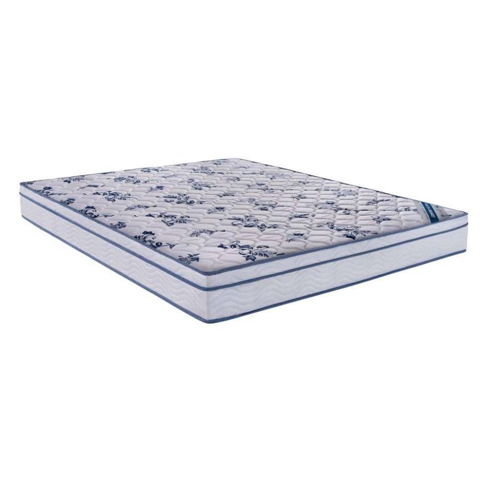 Colchão Casal Molas Nanolastic Physicl D26 Azul e Branco -Ortobom 20x138x188 - 1040327121