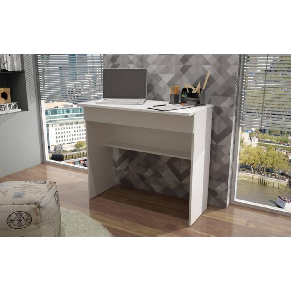 Escrivaninha 1 Gaveta Branco (Bho 21-06) - Brv Móveis