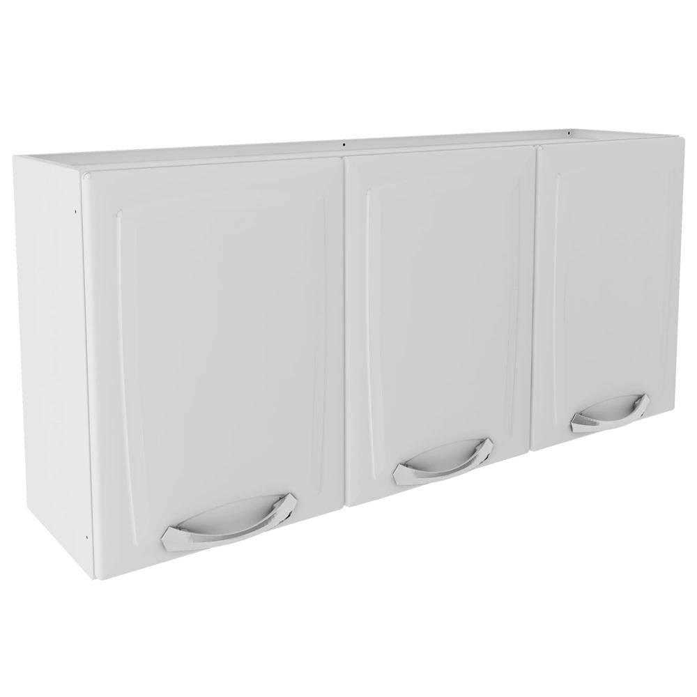 Armário Aéreo P/ Cozinha Premium 3 Portas Branco - Itatiaia