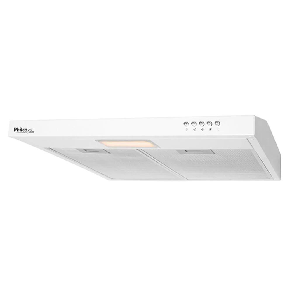 Depurador Philco Slim 60cm Branco Pdr60b