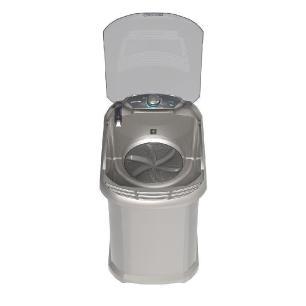 Tanquinho/lavadora De Roupas Semi-Automática Colormaq LCT 4,5kg Prata - 127V