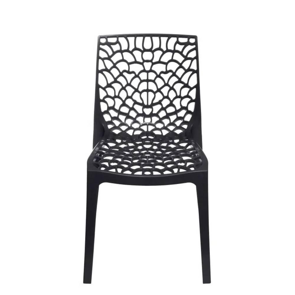 Cadeira Gruvyer Pp Preta