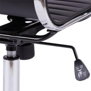 Cadeira Esteirinha Baixa Office Preta (3301) Or Design