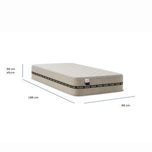 Colchão Solteiro Boreal Flex Bege 30x88x188 - 9369597