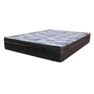 Colchão Casal Espuma ISO Superpocket Preto e Azul- Ortobom 25x138x188 - 1040406537