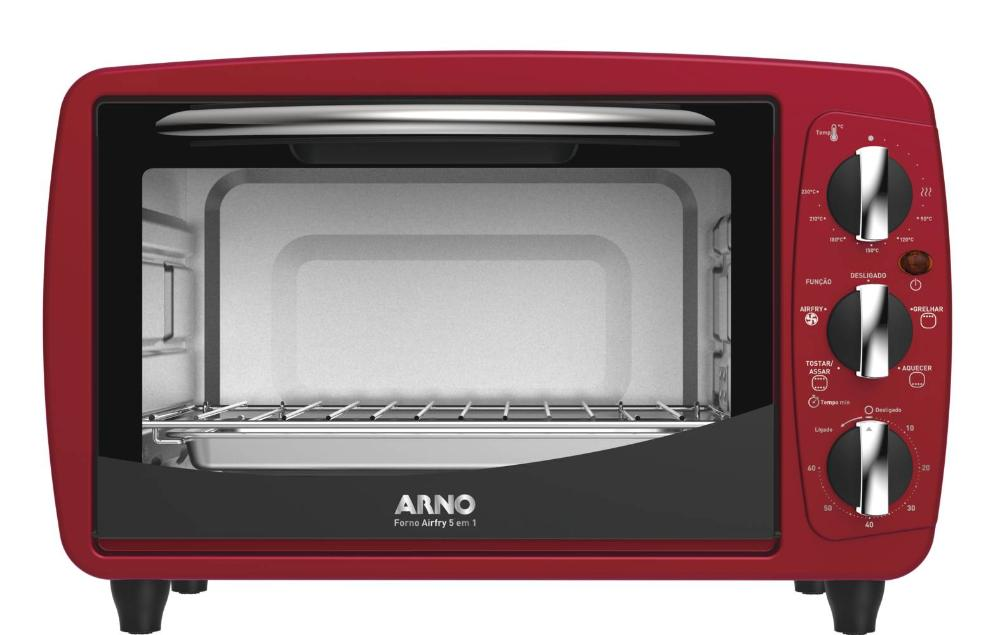 Forno Airfry 5 Em 1 Arno For3 20l Vm