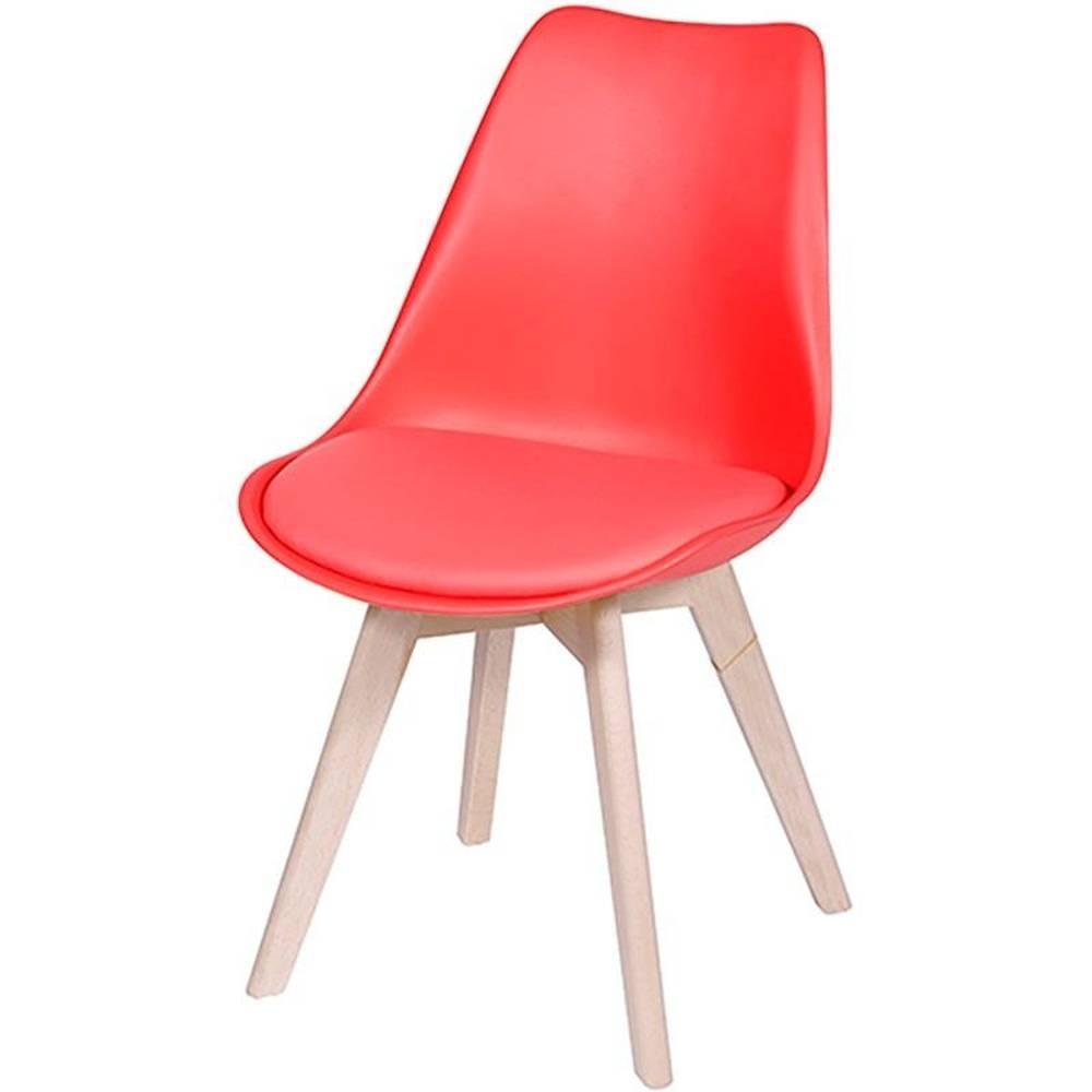 Cadeira Joly Vermelha - Or Design