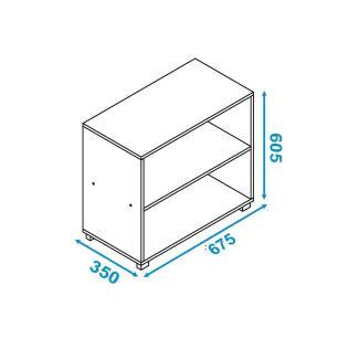 Balcão Multiuso Branco (Bmu 63-06) - Brv Móveis