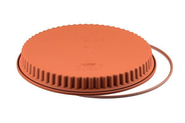 Forma De Silicone Para Torta Com Borda Ondulada Crostata - Silikomart