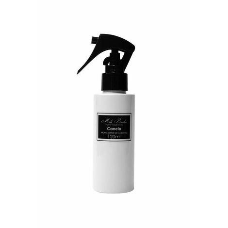 Aromatizante Spray Black & White - 120Ml - Canela - Mels Brushes