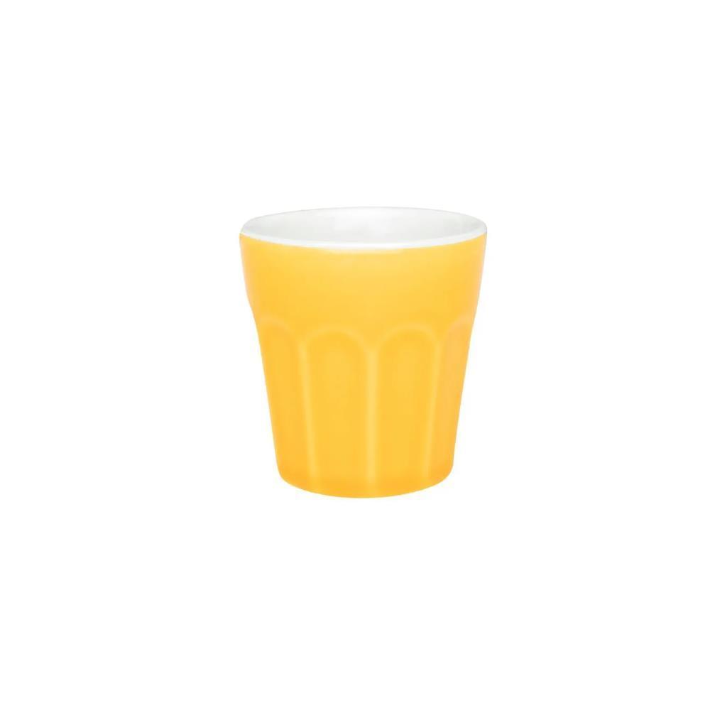 Copo Pequeno 90Ml - Branco/Amarelo - Oxford Daily