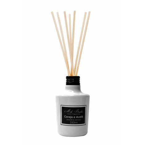 Difusor Black & White - Cereja E Avelã - 250Ml - Mels Brushes