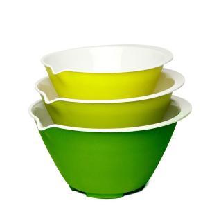 Conjunto 3 Tigelas Com Bico Despejador - Nesting Bowl Set ChefN