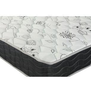 Cama Box Viúva + Colchão De Molas - Probel - Prodormir Sleep Black 128x188x57cm