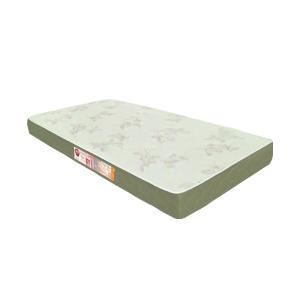 Cama Box Com Baú Solteiro + Colchão De Espuma D33 - Castor - Sleep Max - 88x188x60cm