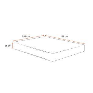 Colchão Molas Ensacadas Queen - Sealy - Starck - 158x198x28cm